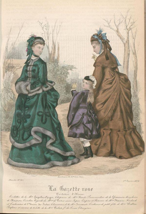 La Gazette Rose 1873 winter