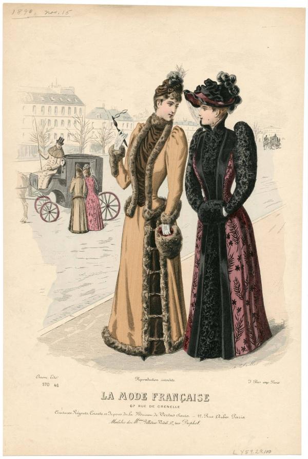 La Mode Francaise 1890