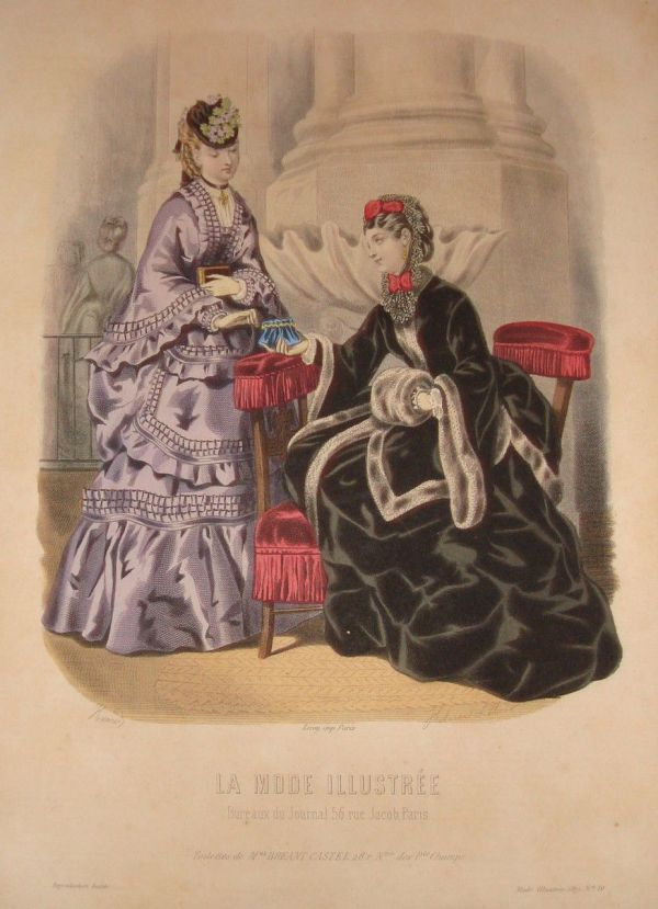 La Mode Illustree 1871 winter