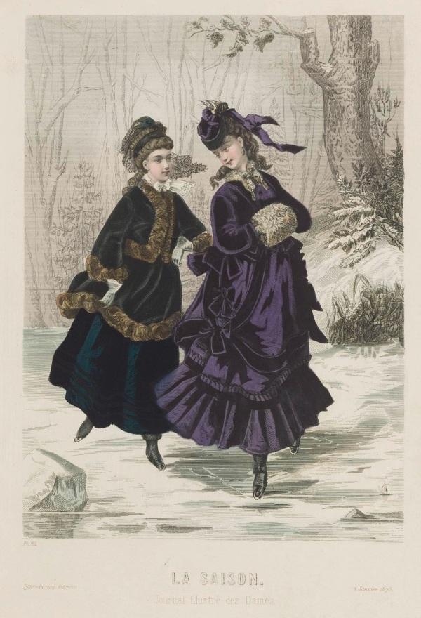 La Saison 1873 ice skating