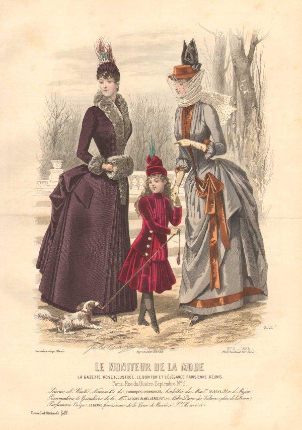 Le Moniteur de la Mode 1888 winter