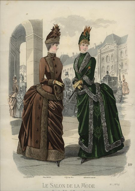 Le Salon de la Mode 1886 winter
