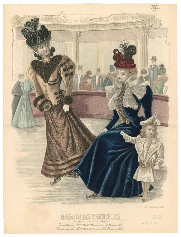 Magasin des Demoiselles 1896 muff