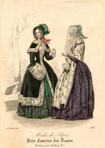 Petit Courrier des Dames 1843 winter