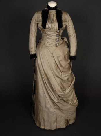 Front view, image belongs to Shippensburg University Fashion Archives and Museum