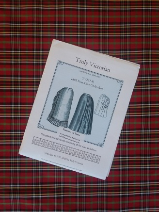 Tartan and dress pattern...ready to go