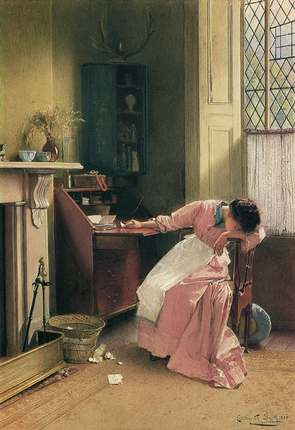 Recalling the Past Carlton Alfred Smith 1888