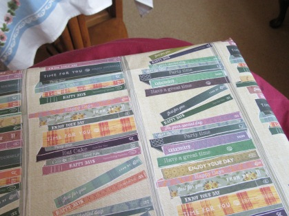 Book lover appropriate wrapping paper...