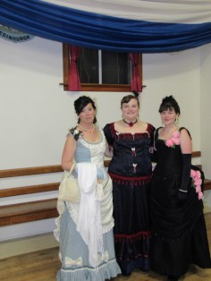 With Liane and Maree, a full length shot