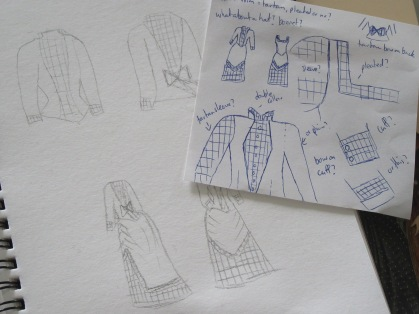 Sketches and planning