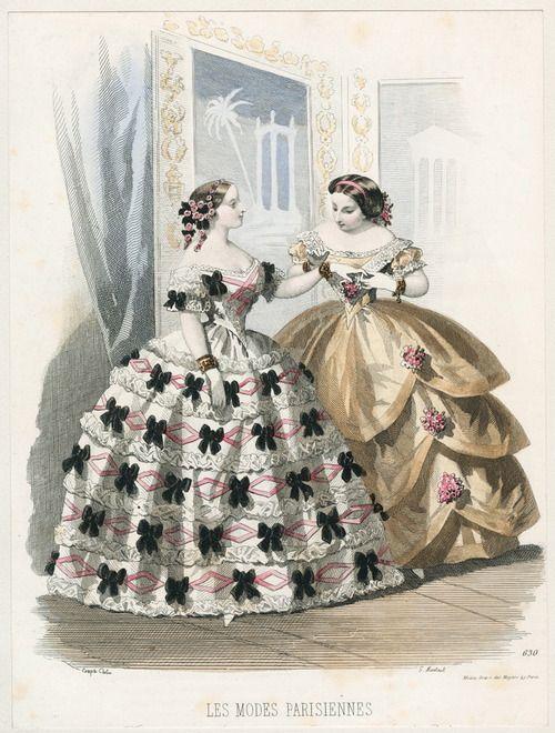 Les Mode Parisienne 1855