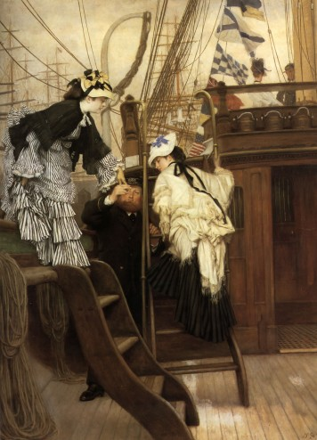 Tissot's Boarding the Yacht
