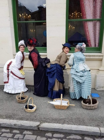 Bustles and Baskets