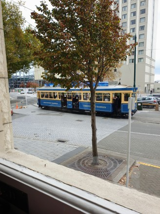 One of the trams that went by