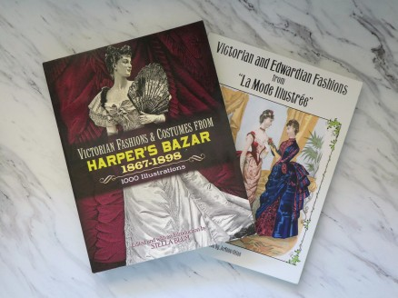 Books filled with fashion plates are not only pretty to look at, but can also serve as fantastic inspiration