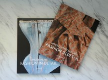 The Fashion in Detail books are great for getting up close and personal with some garments without actually getting up close and personal