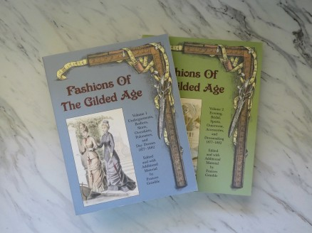 Frances Grimble's books are full of information and historical patterns you can scale up - just like they did!
